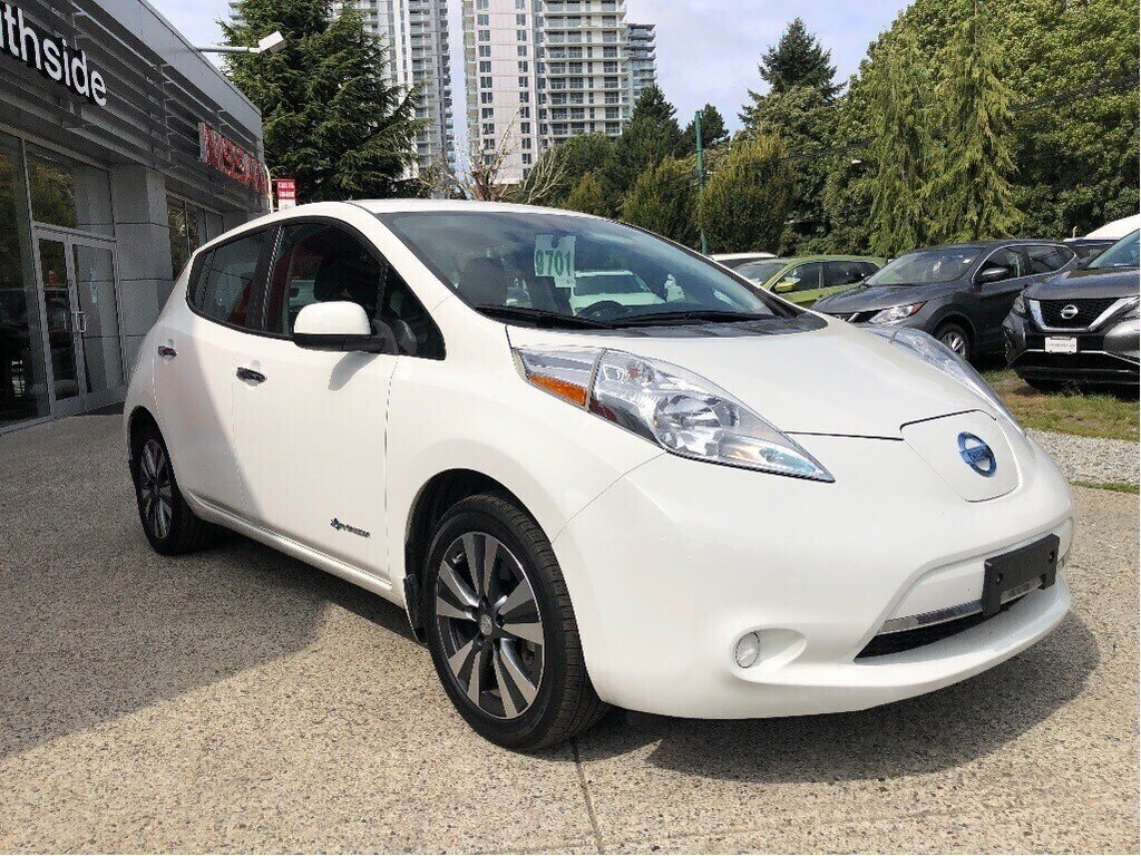2016 Nissan Leaf SV in Vancouver, British Columbia - 3 - w1024h768px