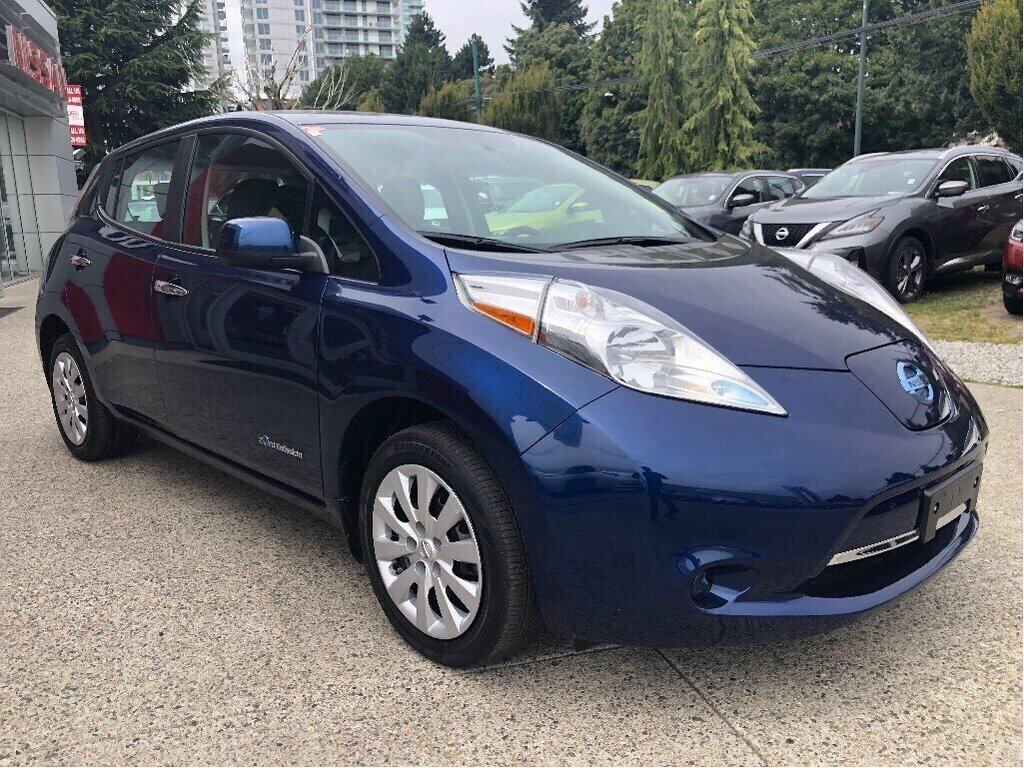 2016 Nissan Leaf S in Vancouver, British Columbia - 3 - w1024h768px