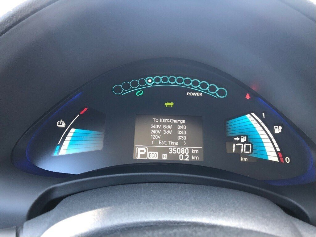 2017 Nissan Leaf SV in Vancouver, British Columbia - 14 - w1024h768px