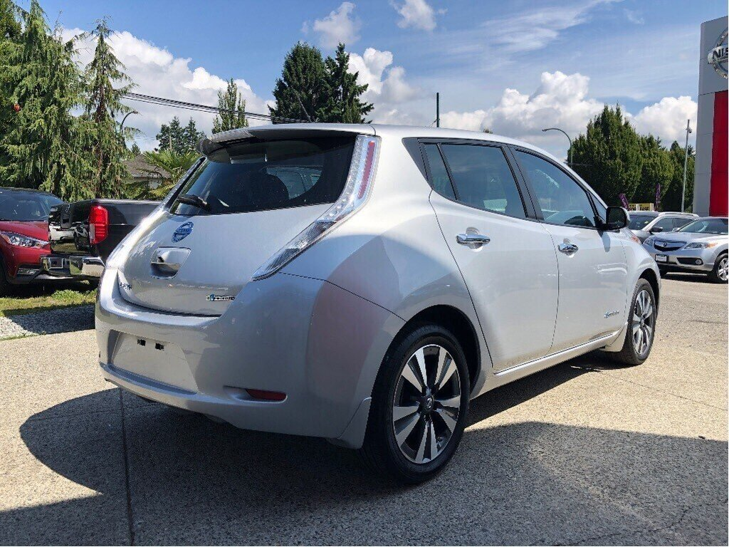 2017 Nissan Leaf SV in Vancouver, British Columbia - 5 - w1024h768px