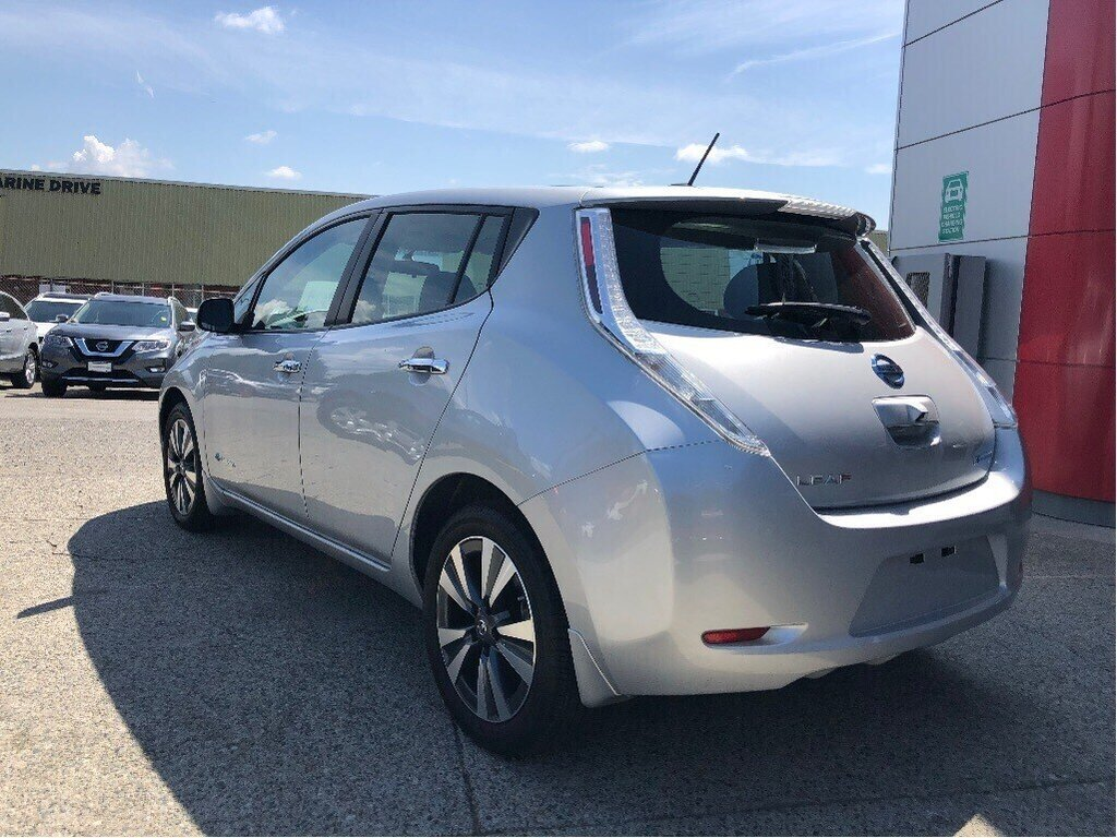 2017 Nissan Leaf SV in Vancouver, British Columbia - 7 - w1024h768px
