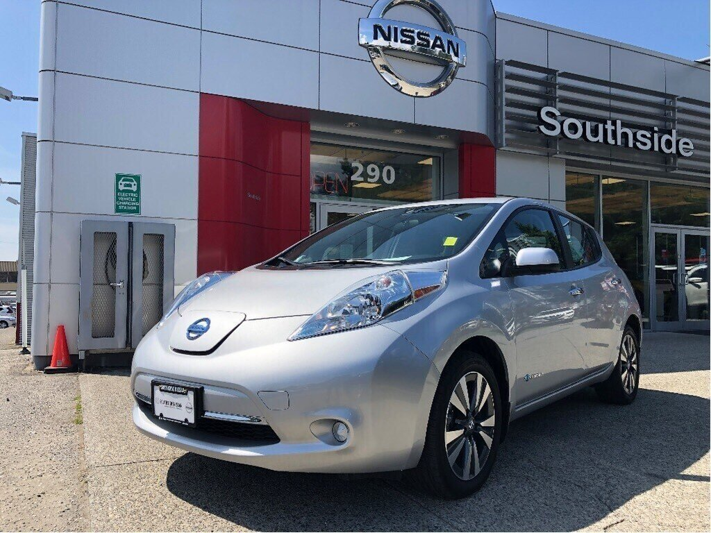 2017 Nissan Leaf SV in Vancouver, British Columbia - 1 - w1024h768px