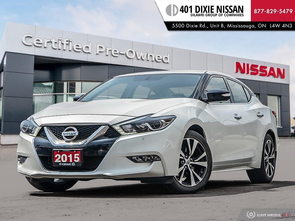 2016 Nissan Maxima 3.5 SV CVT in Mississauga, Ontario - 1 - w1024h768px