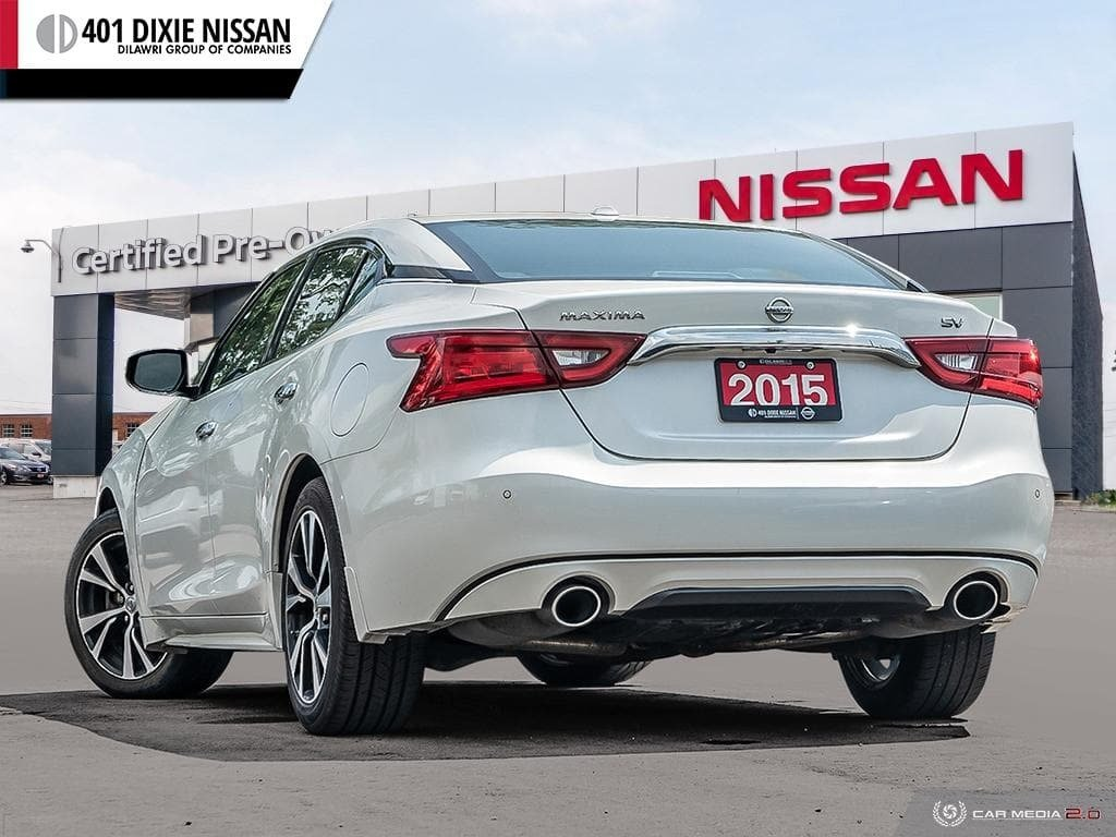 2016 Nissan Maxima 3.5 SV CVT in Mississauga, Ontario - 4 - w1024h768px