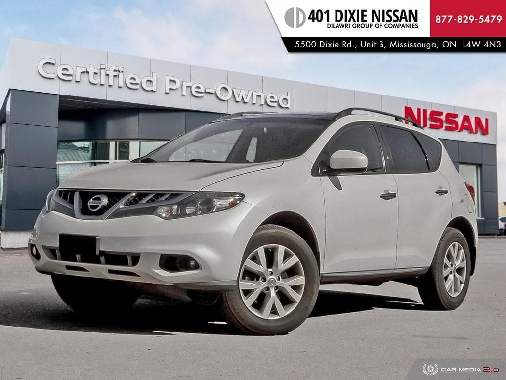2012 Nissan Murano AWD SV CVT in Mississauga, Ontario - 1 - w1024h768px