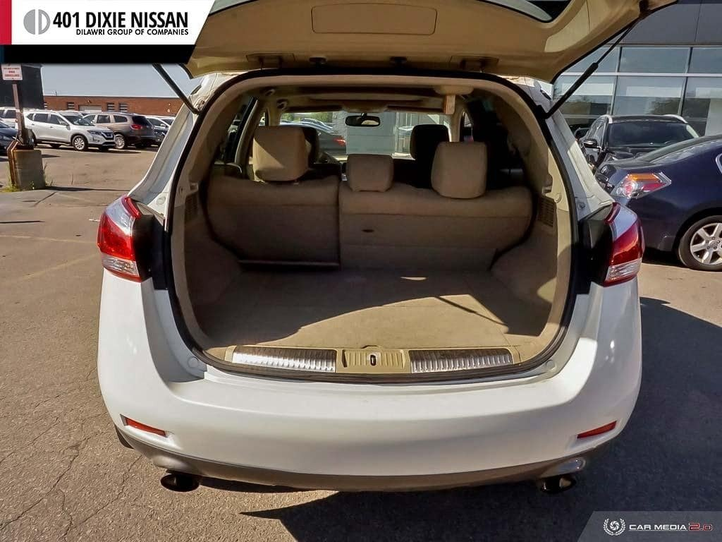 2012 Nissan Murano AWD SV CVT in Mississauga, Ontario - 10 - w1024h768px