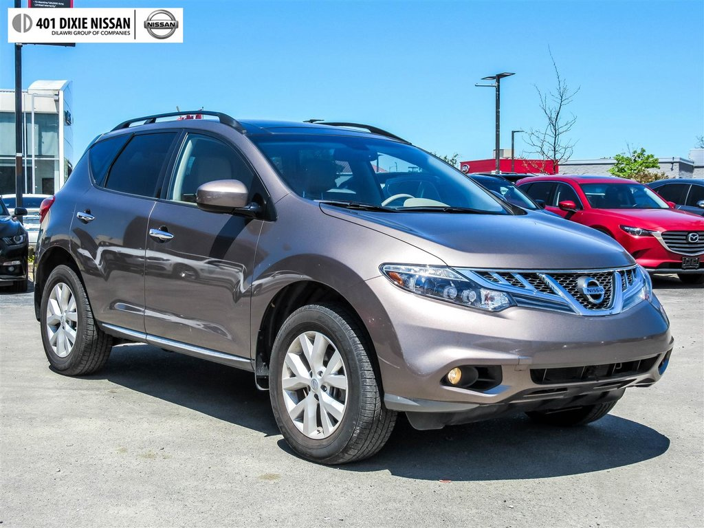 2014 Nissan Murano SL AWD CVT in Mississauga, Ontario - 28 - w1024h768px
