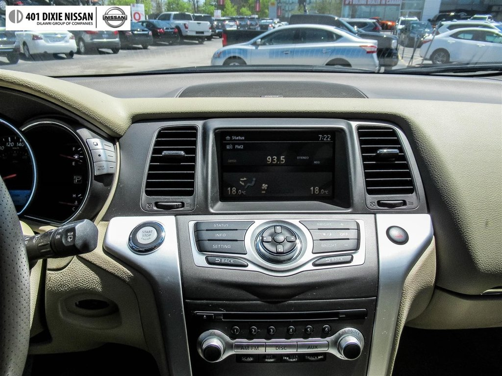 2014 Nissan Murano SL AWD CVT in Mississauga, Ontario - 22 - w1024h768px