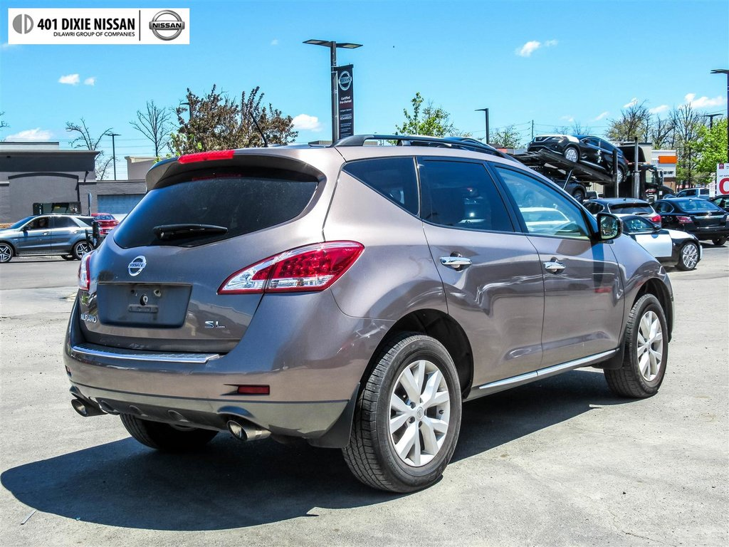 2014 Nissan Murano SL AWD CVT in Mississauga, Ontario - 30 - w1024h768px