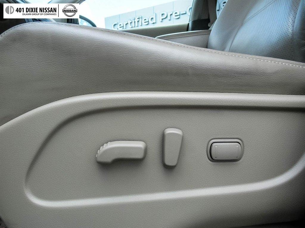 2014 Nissan Murano Platinum AWD CVT in Mississauga, Ontario - 21 - w1024h768px