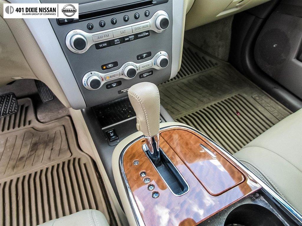 2014 Nissan Murano Platinum AWD CVT in Mississauga, Ontario - 26 - w1024h768px