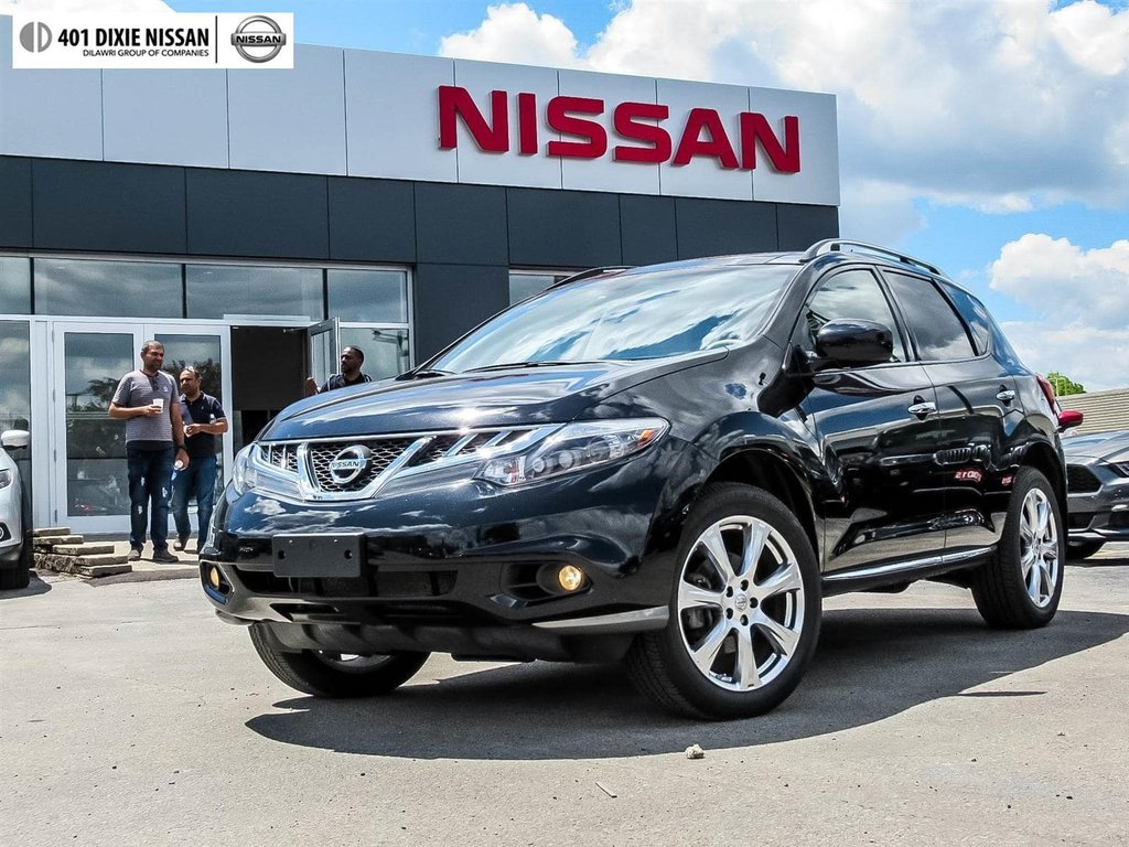 2014 Nissan Murano Platinum AWD CVT in Mississauga, Ontario - 1 - w1024h768px