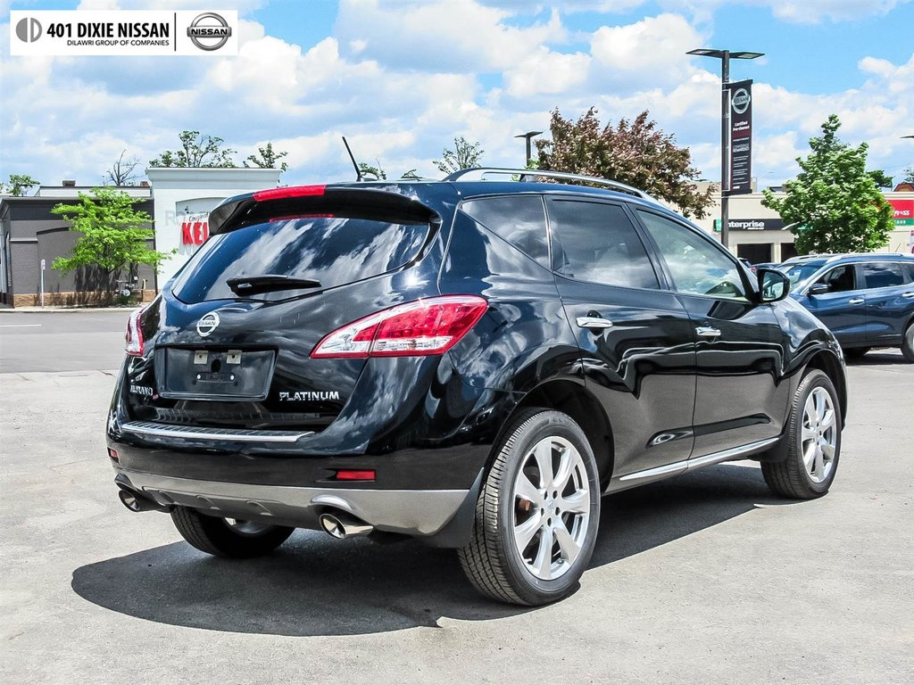 2014 Nissan Murano Platinum AWD CVT in Mississauga, Ontario - 31 - w1024h768px