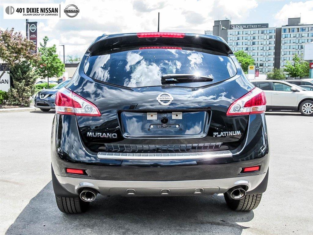 2014 Nissan Murano Platinum AWD CVT in Mississauga, Ontario - 32 - w1024h768px