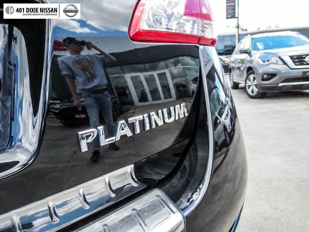 2014 Nissan Murano Platinum AWD CVT in Mississauga, Ontario - 20 - w1024h768px