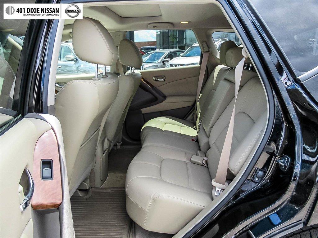 2014 Nissan Murano Platinum AWD CVT in Mississauga, Ontario - 38 - w1024h768px