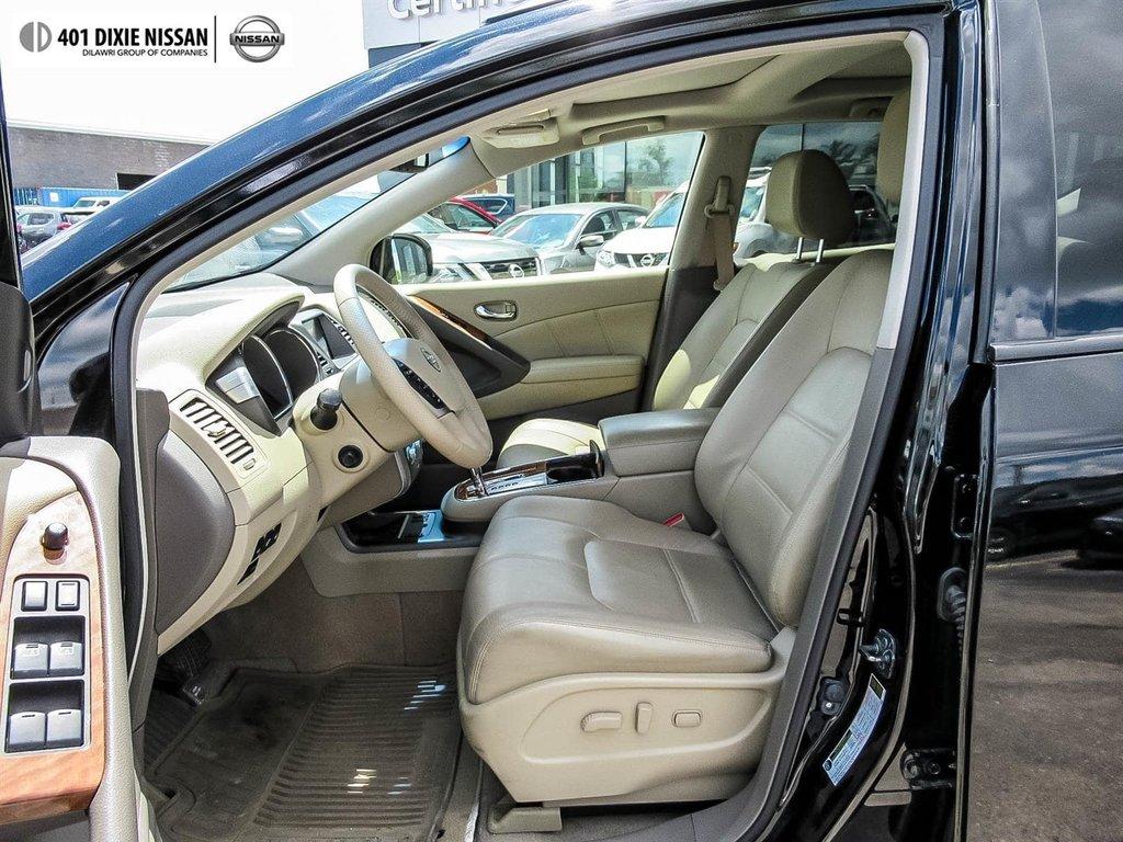 2014 Nissan Murano Platinum AWD CVT in Mississauga, Ontario - 11 - w1024h768px