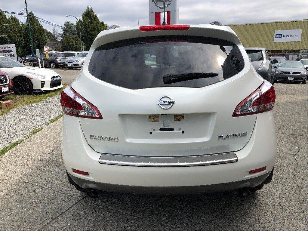 2014 Nissan Murano Platinum AWD CVT in Vancouver, British Columbia - 6 - w1024h768px