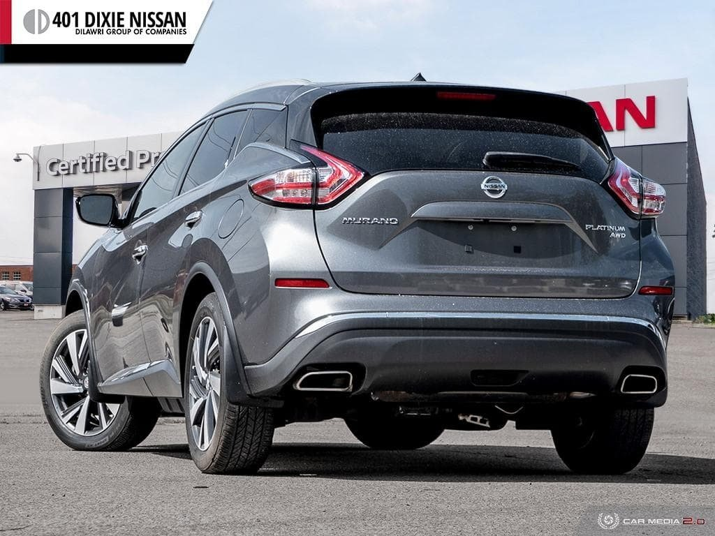 2015 Nissan Murano Platinum AWD CVT in Mississauga, Ontario - 4 - w1024h768px