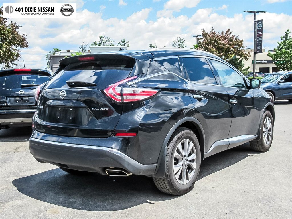 2015 Nissan Murano SL AWD CVT in Mississauga, Ontario - 30 - w1024h768px