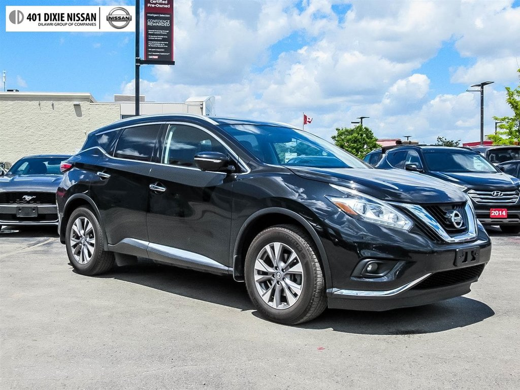 2015 Nissan Murano SL AWD CVT in Mississauga, Ontario - 3 - w1024h768px