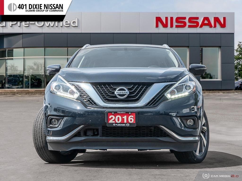 2016 Nissan Murano Platinum AWD CVT in Mississauga, Ontario - 2 - w1024h768px