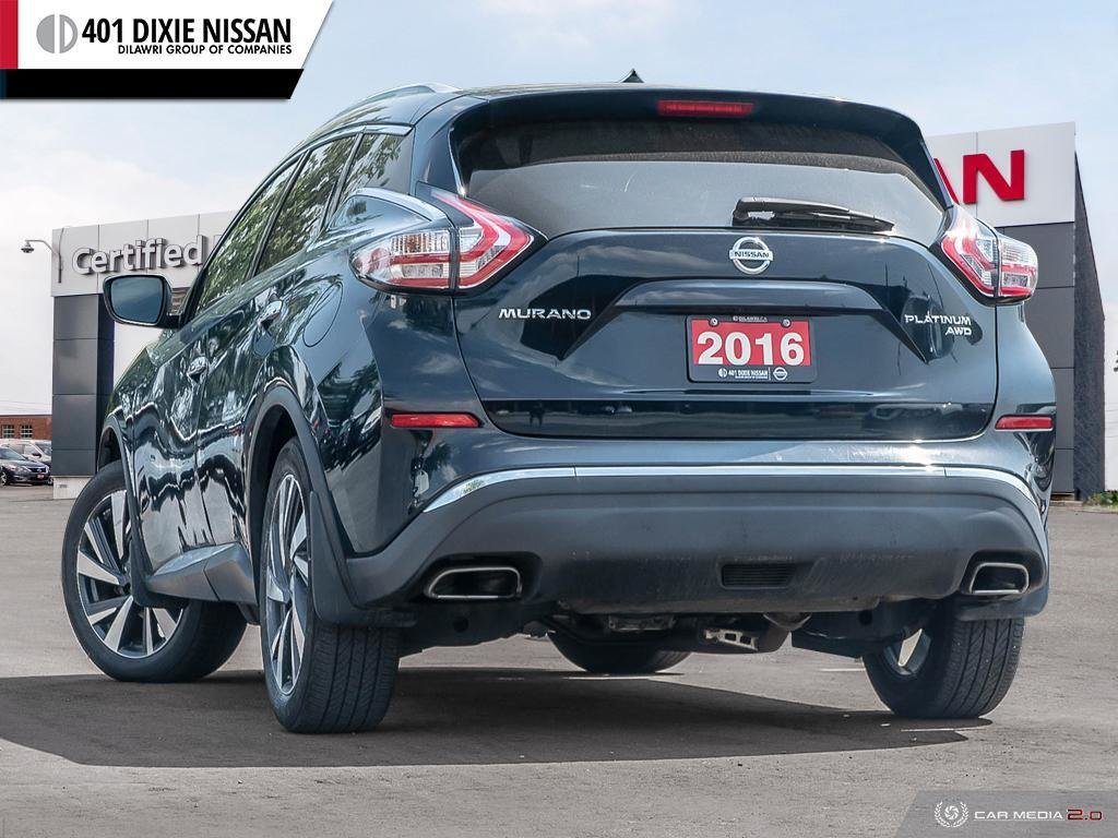 2016 Nissan Murano Platinum AWD CVT in Mississauga, Ontario - 4 - w1024h768px