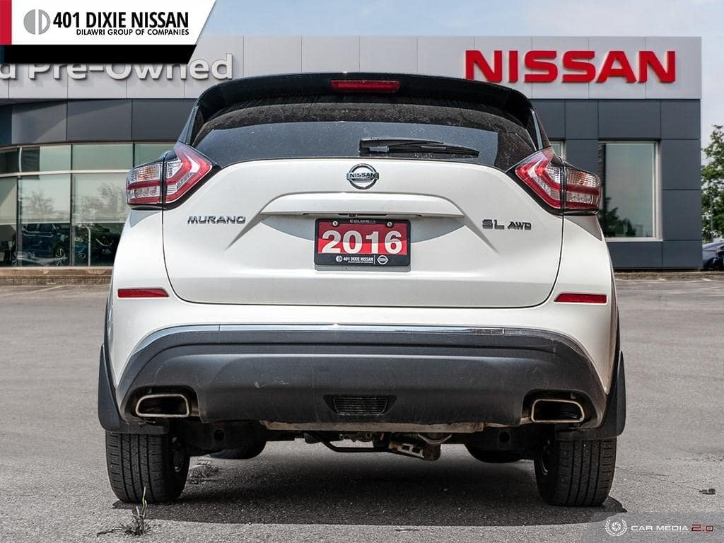 2016 Nissan Murano SL AWD CVT in Mississauga, Ontario - 5 - w1024h768px