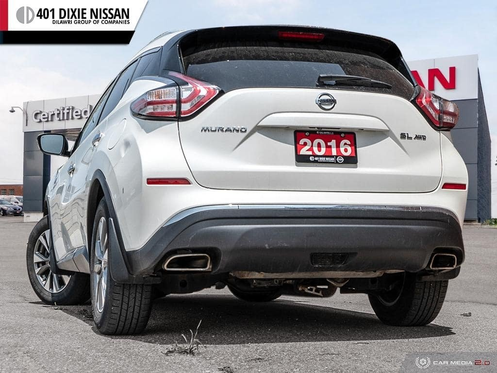 2016 Nissan Murano SL AWD CVT in Mississauga, Ontario - 4 - w1024h768px