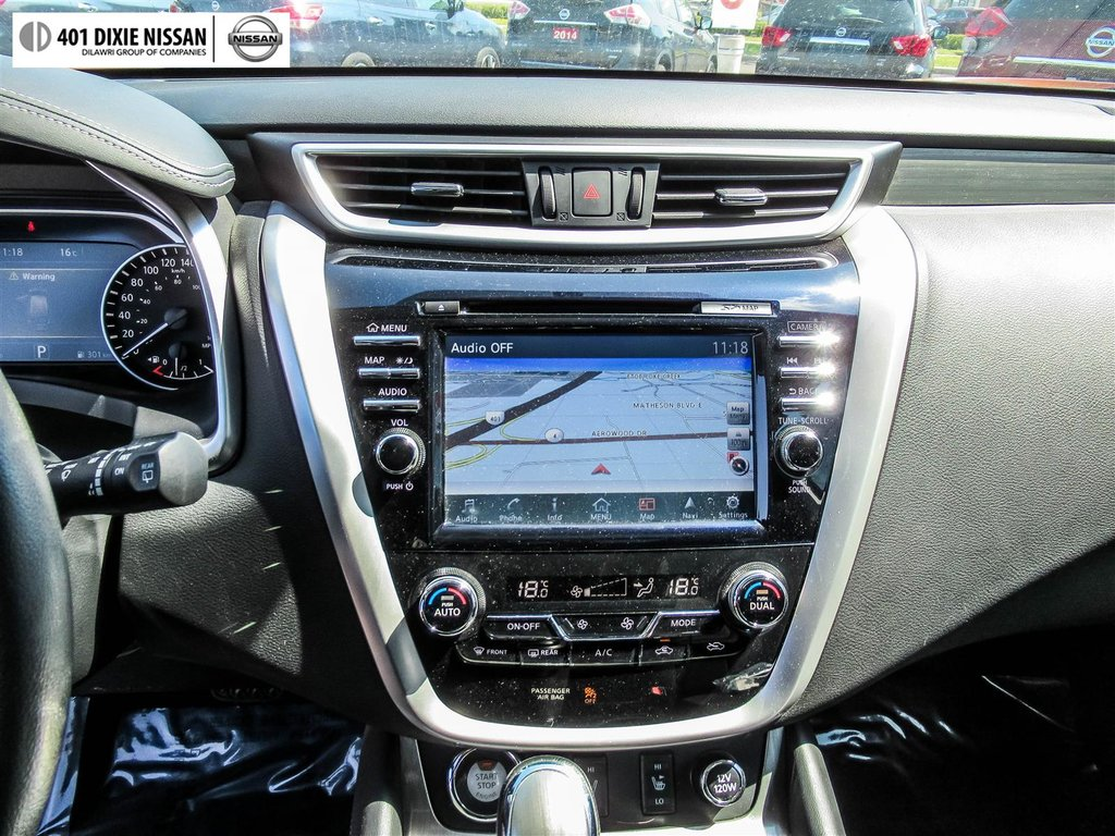 2016 Nissan Murano SV AWD CVT in Mississauga, Ontario - 18 - w1024h768px