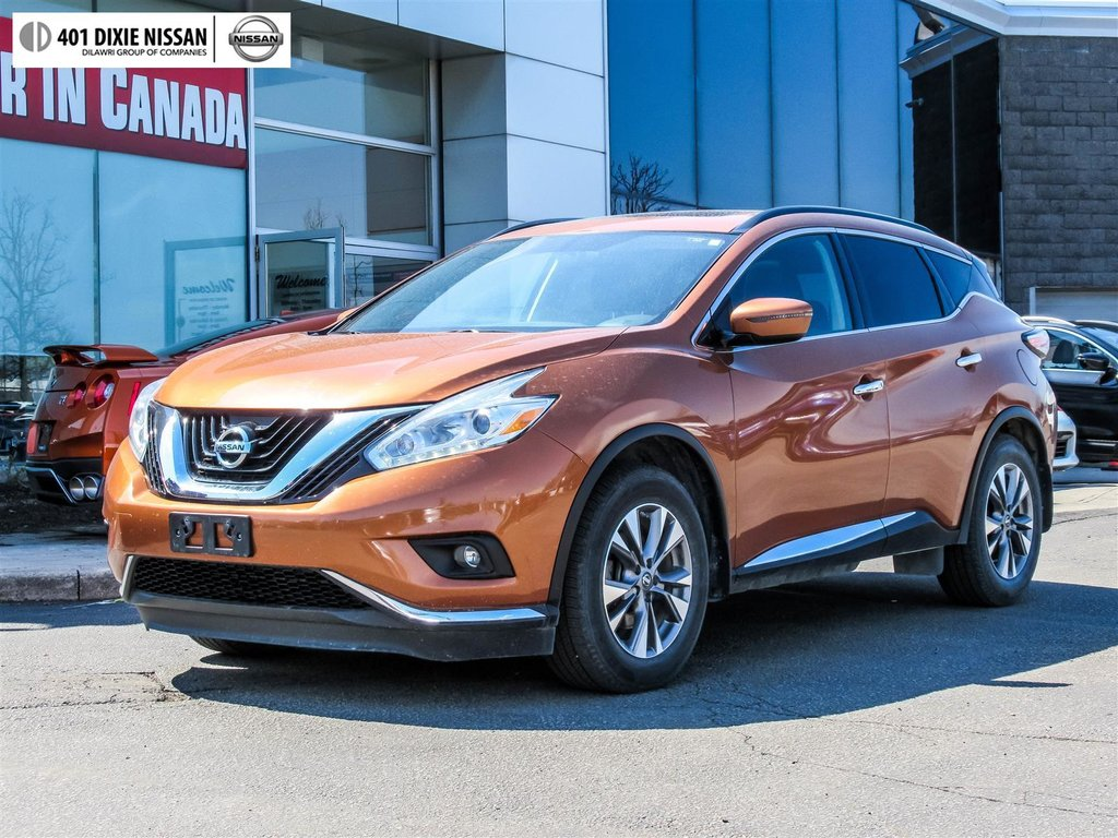 2016 Nissan Murano SV AWD CVT in Mississauga, Ontario - 10 - w1024h768px