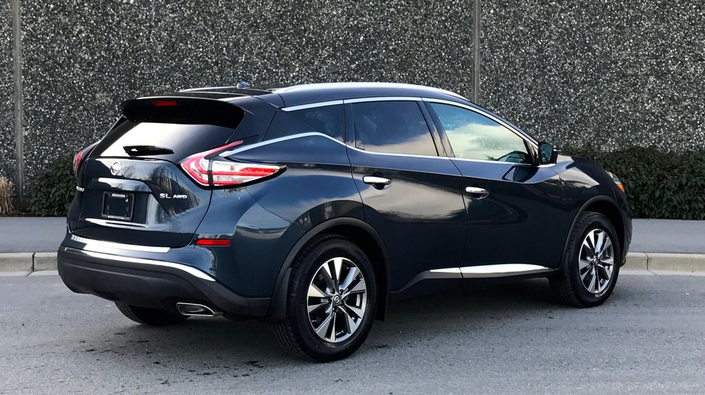 2016 Nissan Murano SL AWD CVT in North Vancouver, British Columbia - 10 - w1024h768px