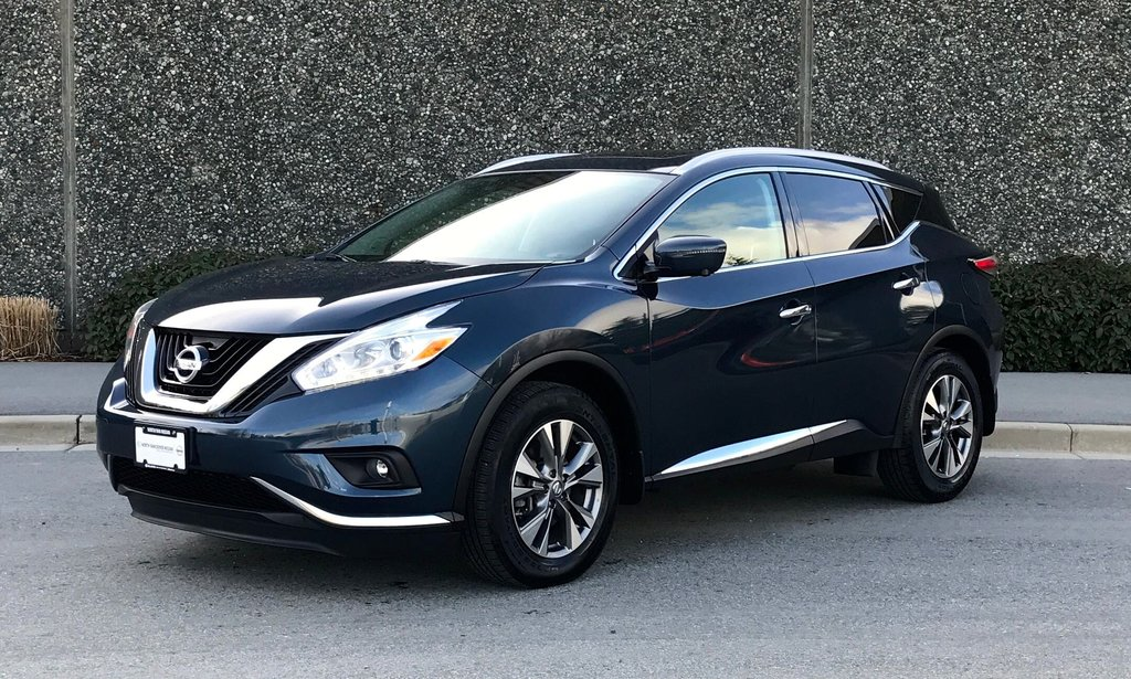 2016 Nissan Murano SL AWD CVT in North Vancouver, British Columbia - 1 - w1024h768px