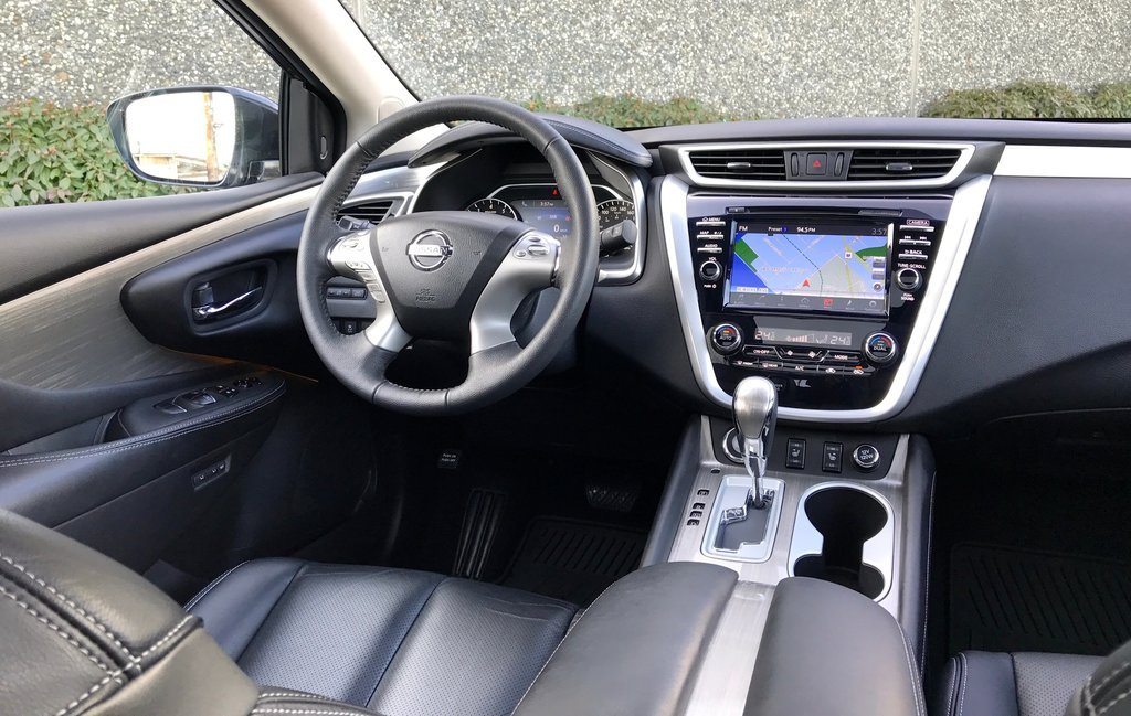 2016 Nissan Murano SL AWD CVT in North Vancouver, British Columbia - 9 - w1024h768px