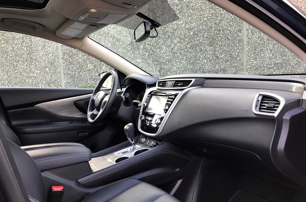 2016 Nissan Murano SL AWD CVT in North Vancouver, British Columbia - 7 - w1024h768px