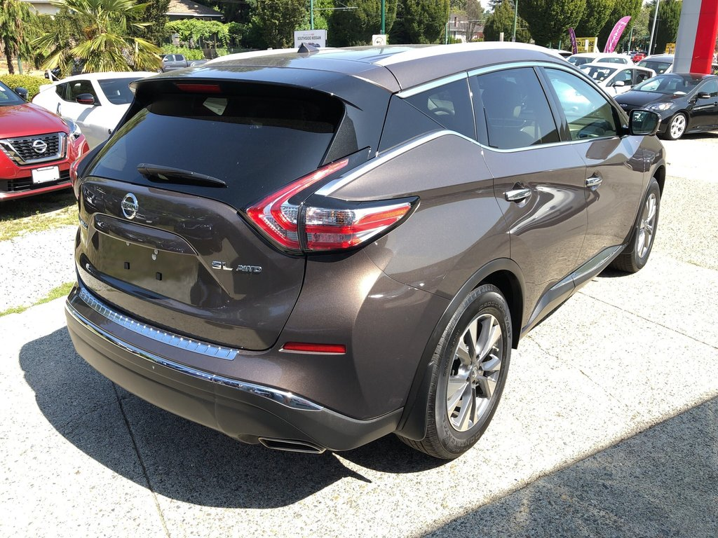 2016 Nissan Murano SL AWD CVT in Vancouver, British Columbia - 5 - w1024h768px