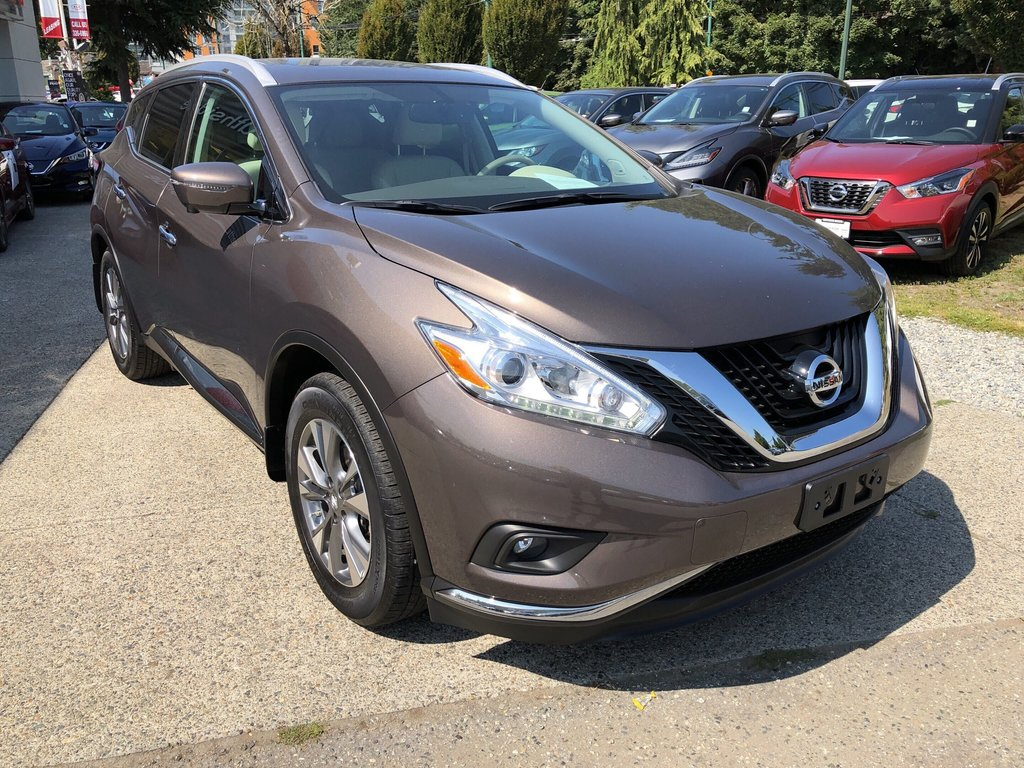 2016 Nissan Murano SL AWD CVT in Vancouver, British Columbia - 7 - w1024h768px