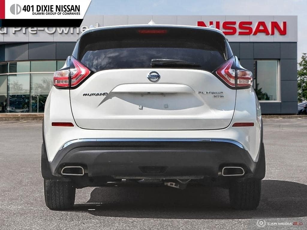 2016 Nissan Murano Platinum AWD CVT in Mississauga, Ontario - 5 - w1024h768px