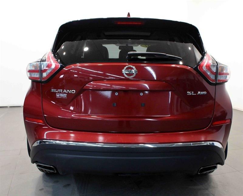 2017 Nissan Murano SL AWD CVT in Regina, Saskatchewan - 20 - w1024h768px