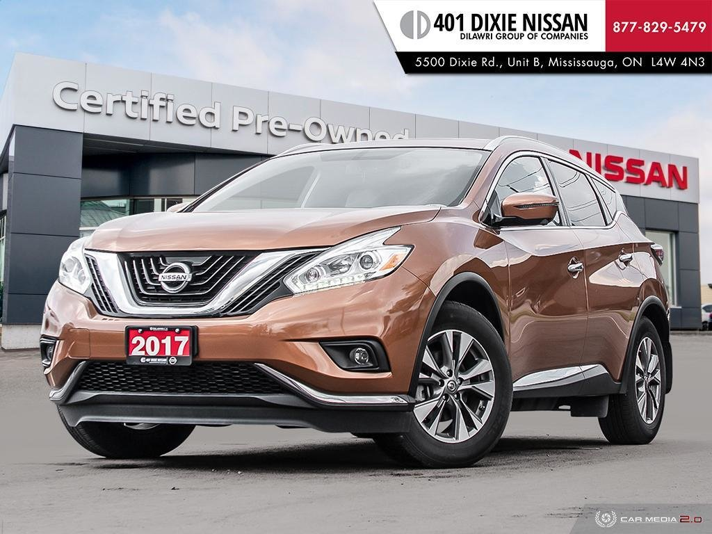 2017 Nissan Murano SL AWD CVT in Mississauga, Ontario - 1 - w1024h768px