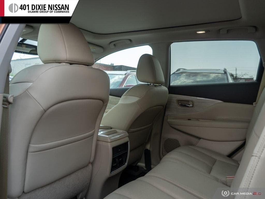 2017 Nissan Murano SL AWD CVT in Mississauga, Ontario - 24 - w1024h768px