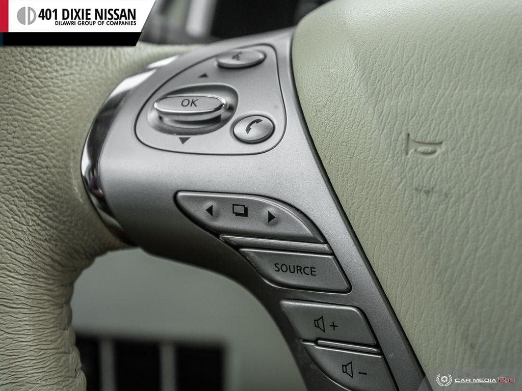 2017 Nissan Murano SL AWD CVT in Mississauga, Ontario - 18 - w1024h768px