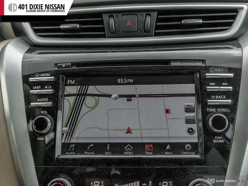 2017 Nissan Murano SL AWD CVT in Mississauga, Ontario - 21 - w1024h768px