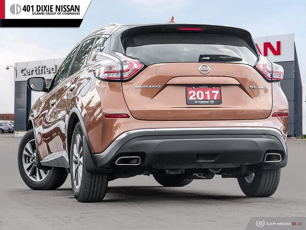 2017 Nissan Murano SL AWD CVT in Mississauga, Ontario - 4 - w1024h768px
