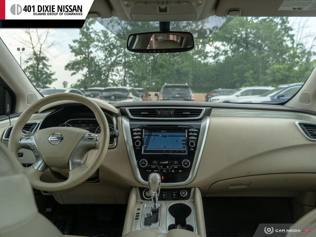 2017 Nissan Murano SL AWD CVT in Mississauga, Ontario - 25 - w1024h768px