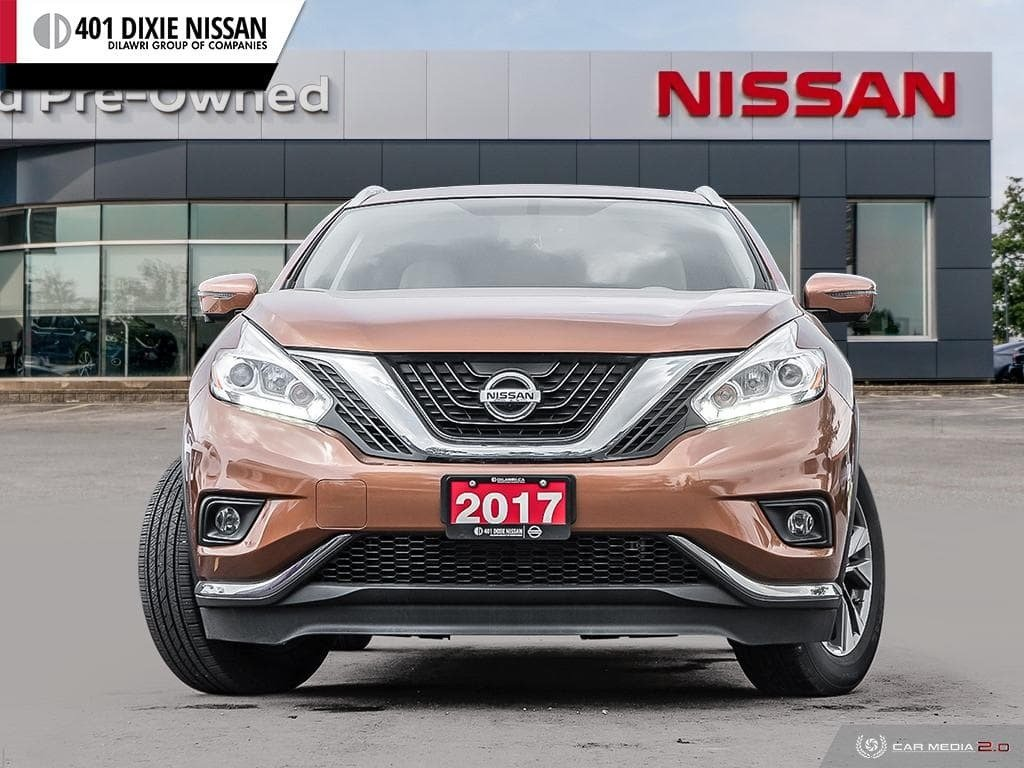 2017 Nissan Murano SL AWD CVT in Mississauga, Ontario - 2 - w1024h768px