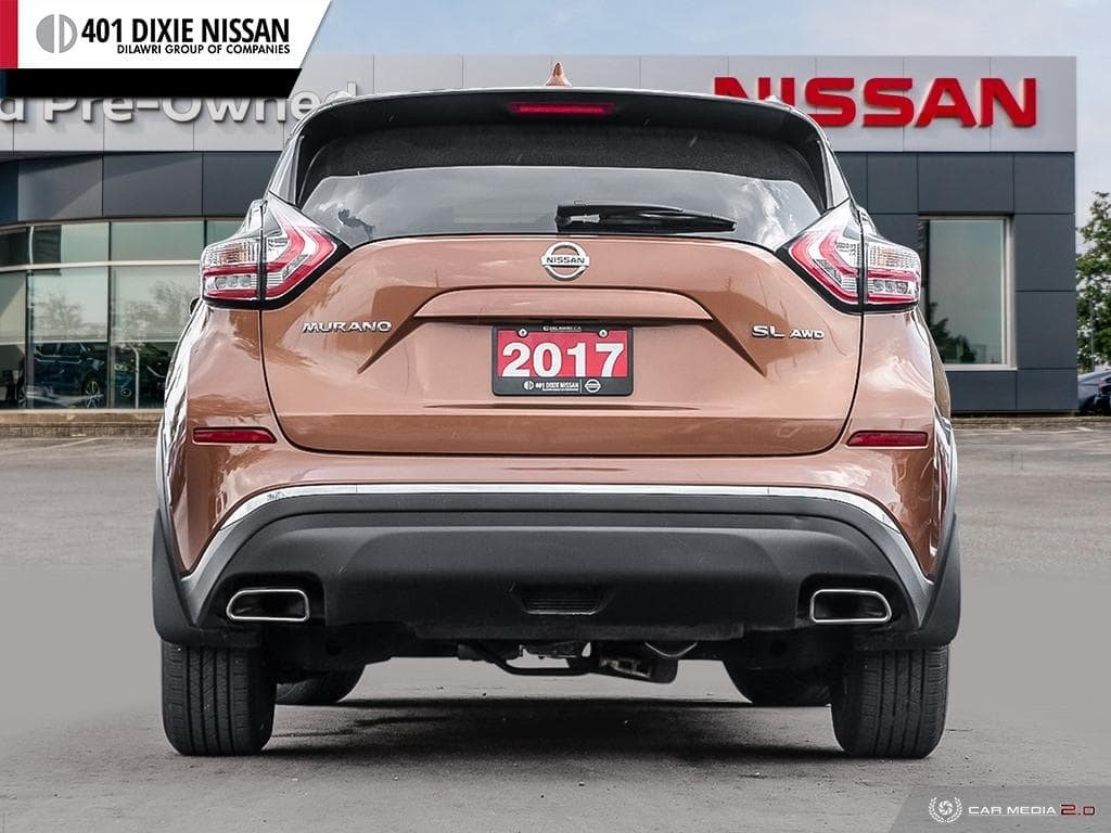 2017 Nissan Murano SL AWD CVT in Mississauga, Ontario - 5 - w1024h768px