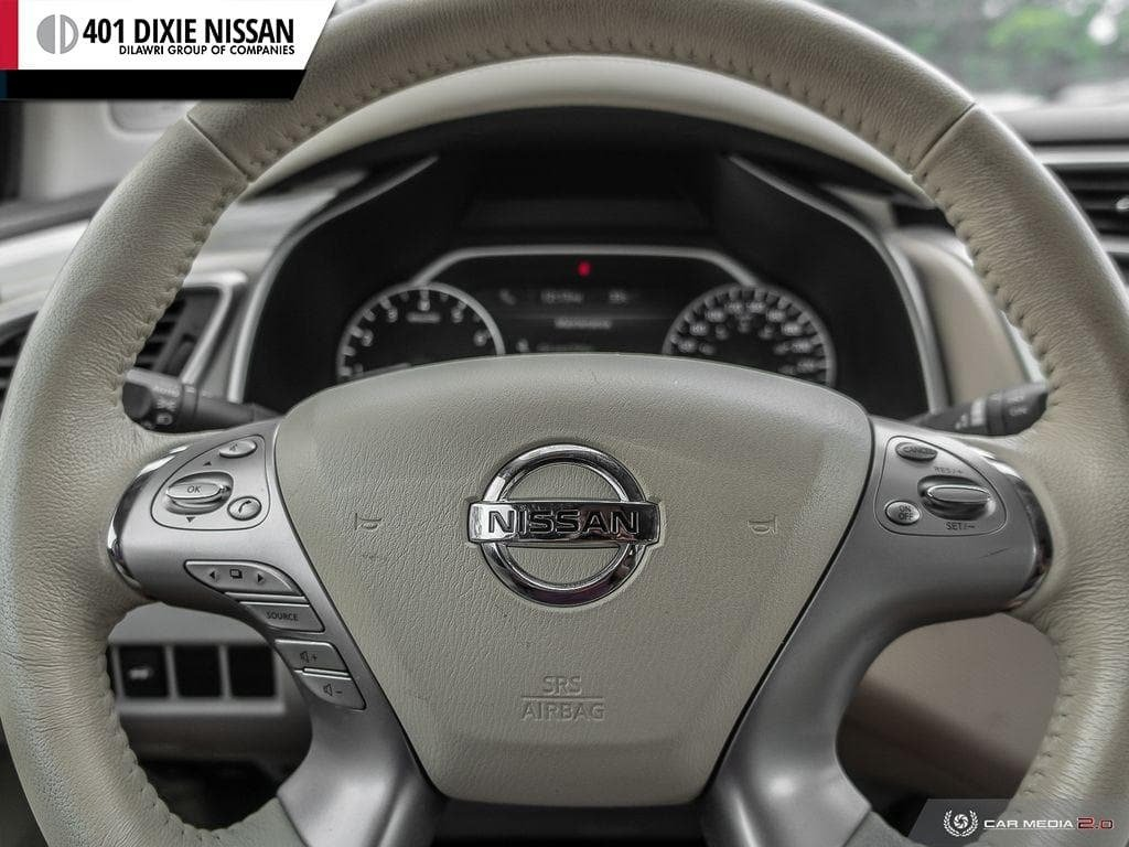 2017 Nissan Murano SL AWD CVT in Mississauga, Ontario - 14 - w1024h768px
