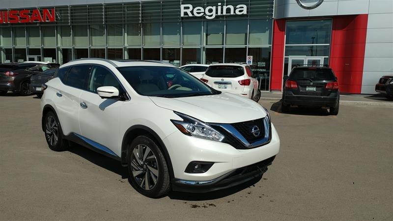 2018 Nissan Murano Platinum AWD CVT in Regina, Saskatchewan - 1 - w1024h768px