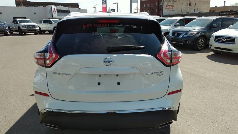 2018 Nissan Murano Platinum AWD CVT in Regina, Saskatchewan - 3 - w1024h768px